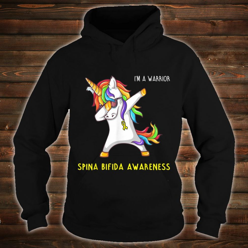 I'm A Warrior Spina Bifida Awareness Shirt hoodie