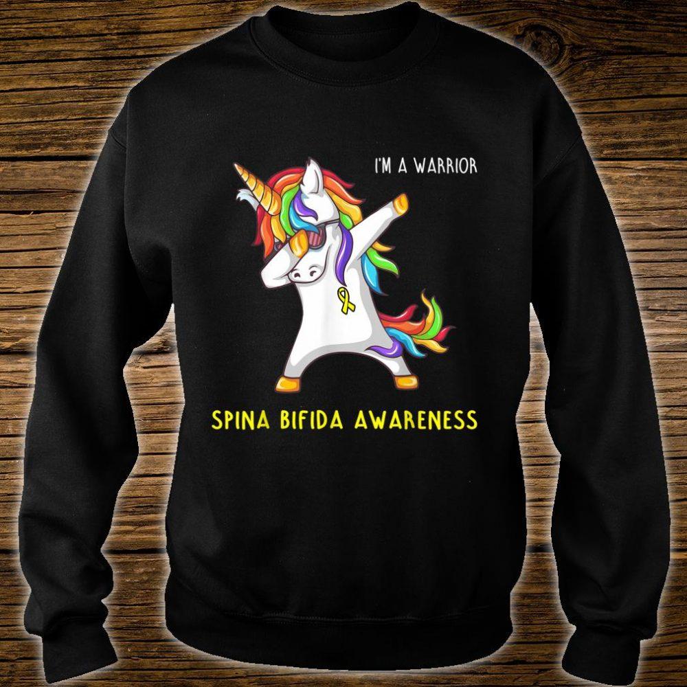 I'm A Warrior Spina Bifida Awareness Shirt sweater