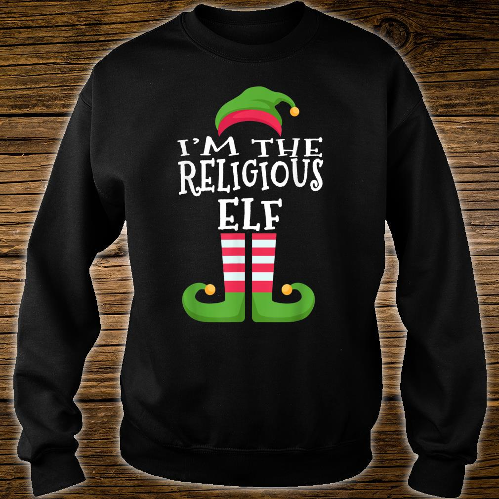 I'm The Religious Elf Group Matching Christmas Shirt sweater