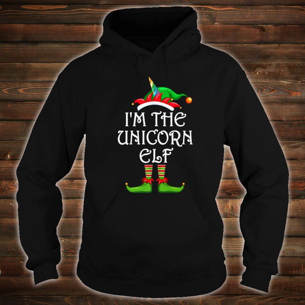 I'm The Unicorn Elf Shirt Matching Family Group Christmas Shirt hoodie