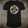 Jack Russell Terrier Cute striped Sunset Shirt