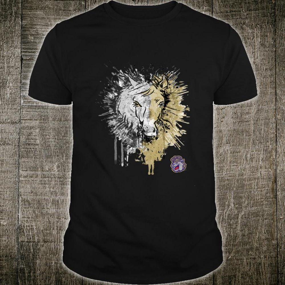 James Madison Dukes Horse Half Face Horse Team Shirt