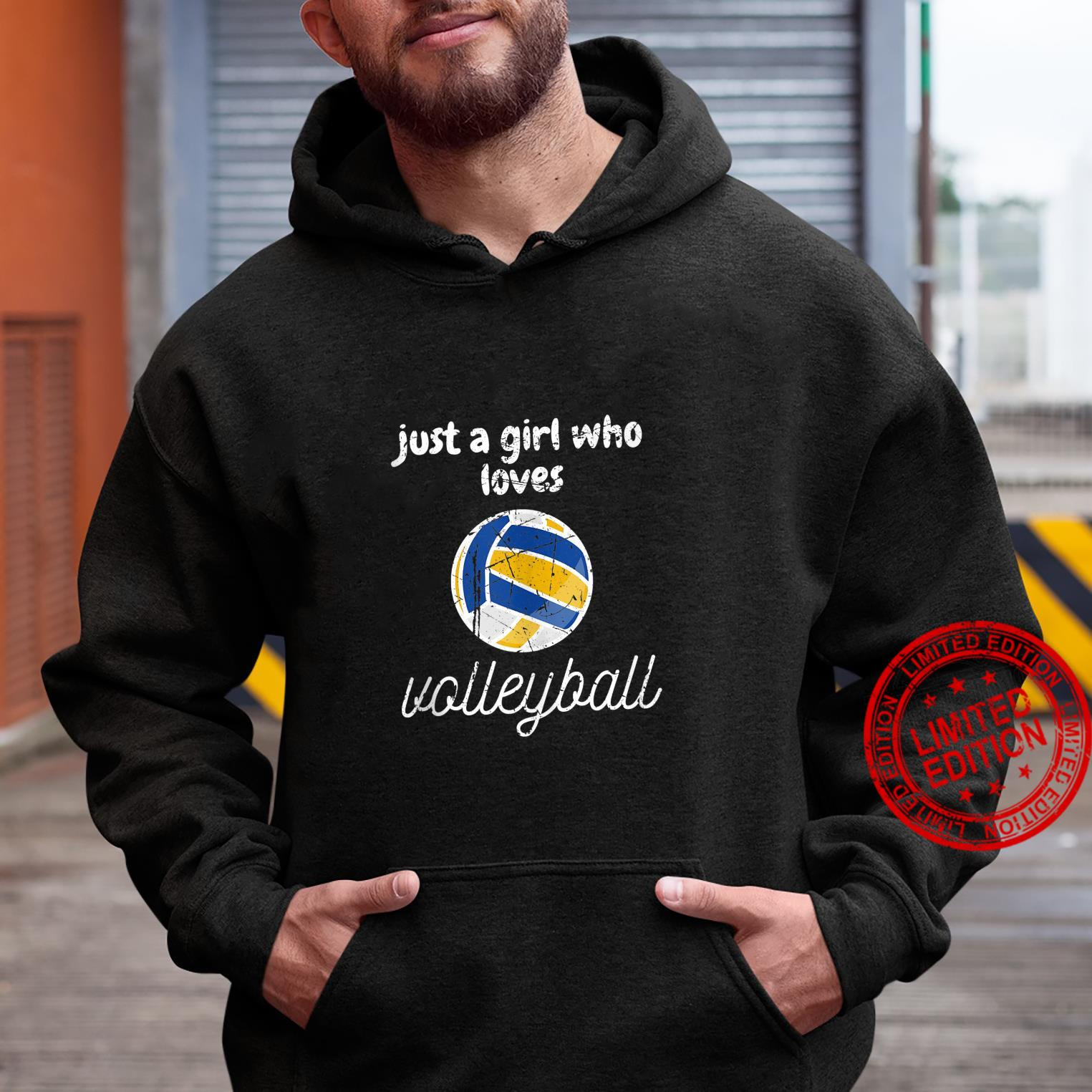 Just A Girl Who Loves Volleyball Sports Gameday Shirt hoodie
