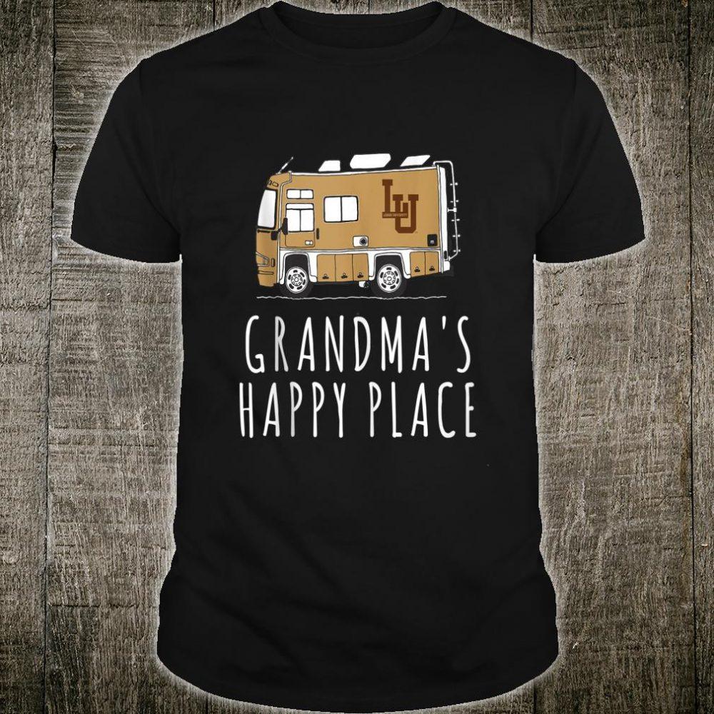 Lehigh Mountain Hawks Camping Grandma's Happy Place Team Shirt