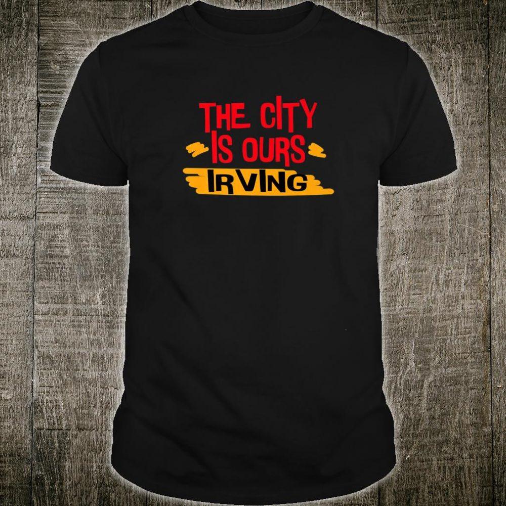 Love Irving city Shirt