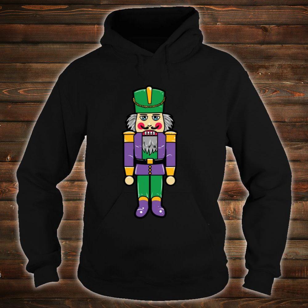 Mardi Gras Nutcracker New Orleans Novelty Christmas Shirt hoodie