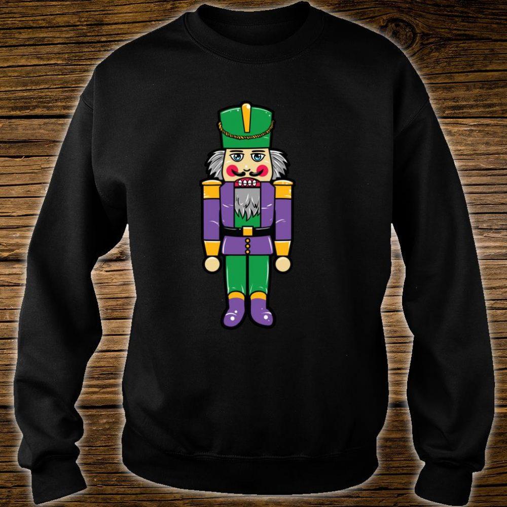 Mardi Gras Nutcracker New Orleans Novelty Christmas Shirt sweater