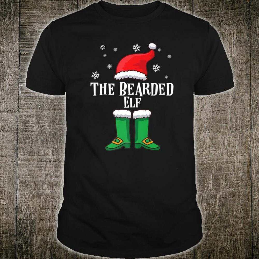 Matching Family Christmas Outfit Beard The Bearded Elf Shirt