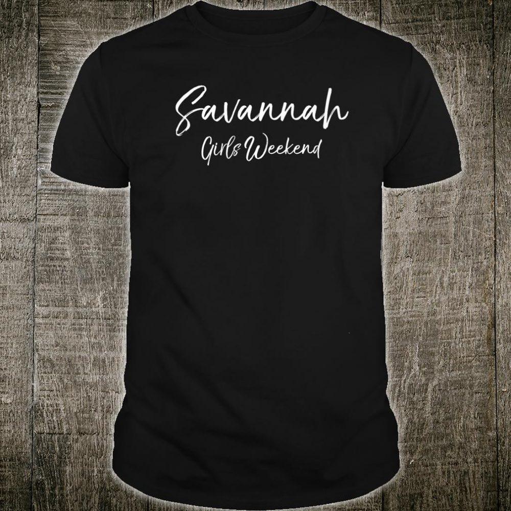 Matching Savannah Savannah Girls Weekend Shirt