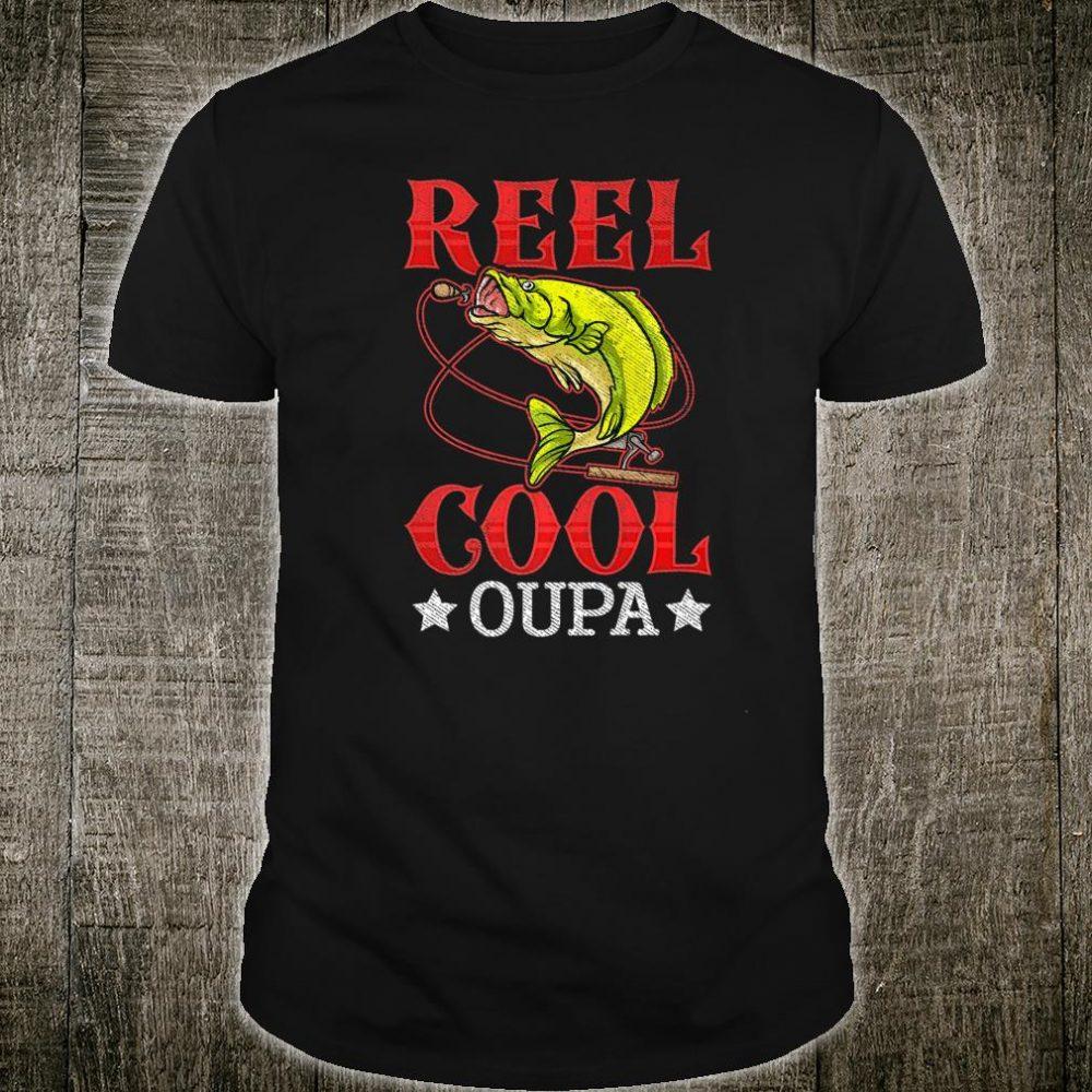 Mens Reel Cool Oupa Fishing Christmas Shirt