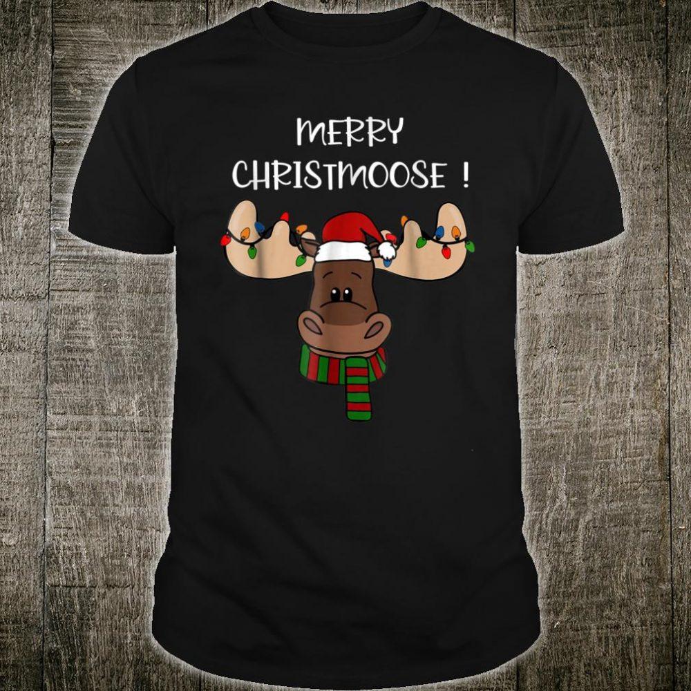Merry Christmoose shirt, Moose Pun Christmas Shirt