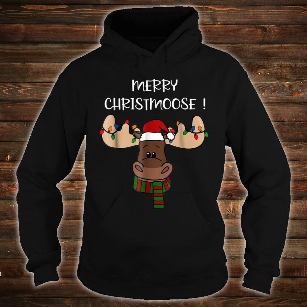 Merry Christmoose shirt, Moose Pun Christmas Shirt hoodie