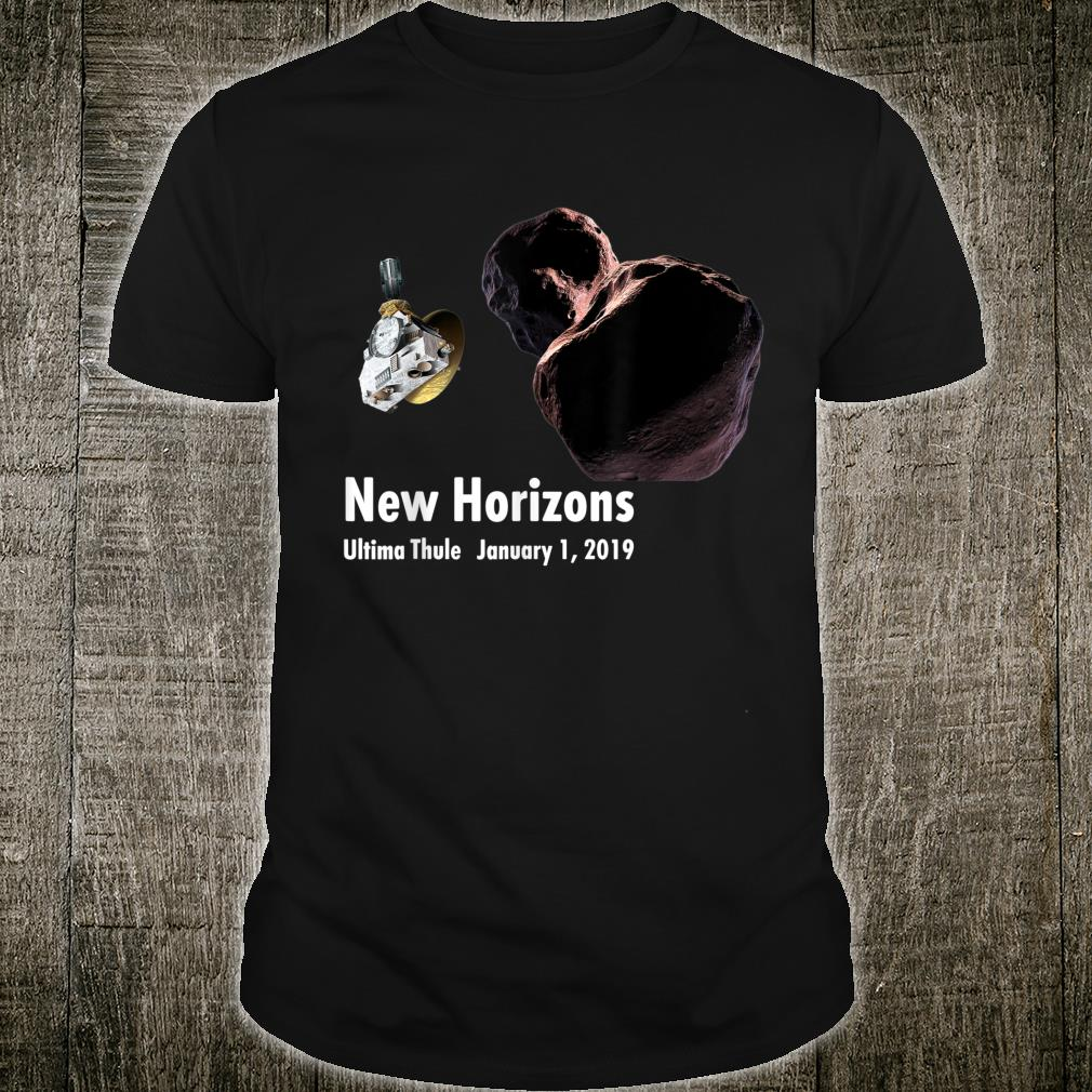 New Horizons Ultima Thule Mission Space Exploration Shirt