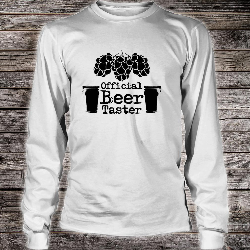 Offizielle Bierschmecker Lustige Halloween Shirt long sleeved