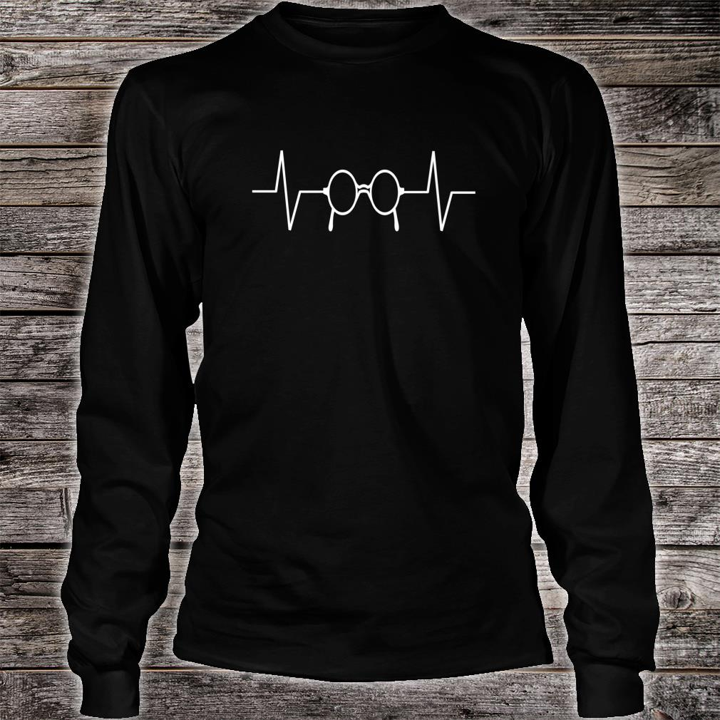 Optician Heartbeat Tee Shirt Long Sleeve Shirt