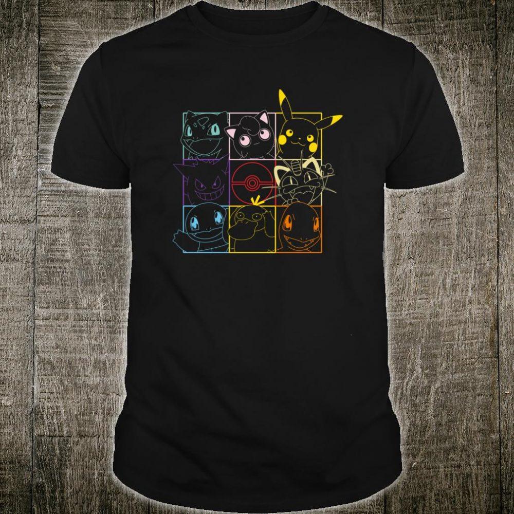 Pokemon Grid Shirt