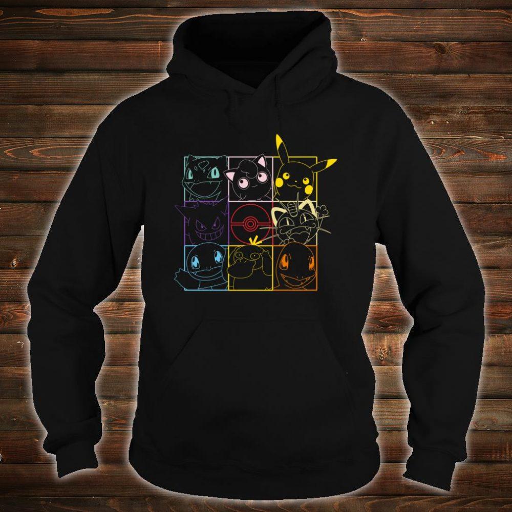 Pokemon Grid Shirt hoodie