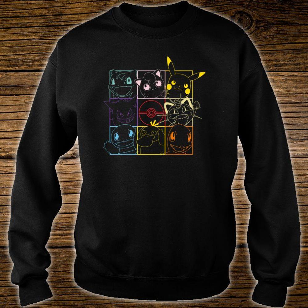 Pokemon Grid Shirt sweater