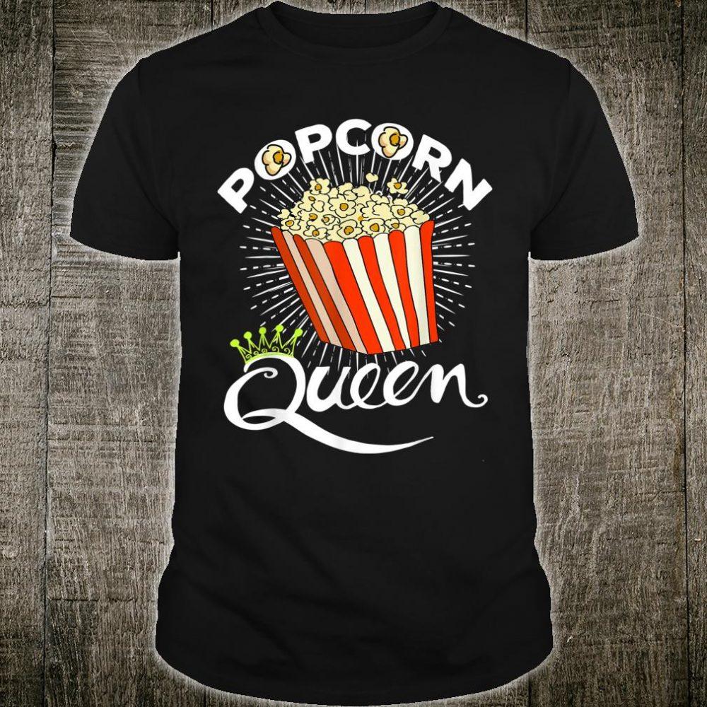 Popcorns Girls Popcorn Queen Costume Shirt