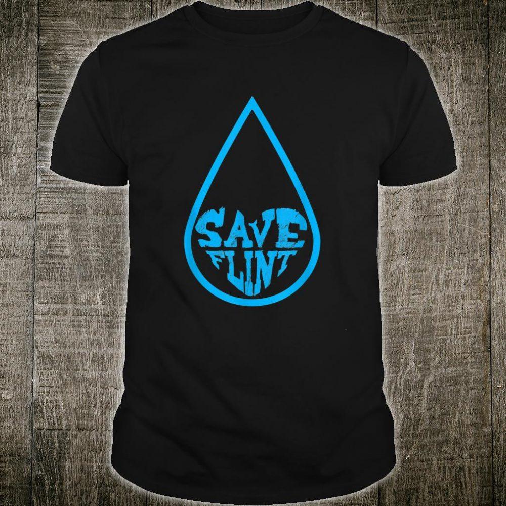 Save Flint Michigan Water Crisis Environment Awareness Shirt