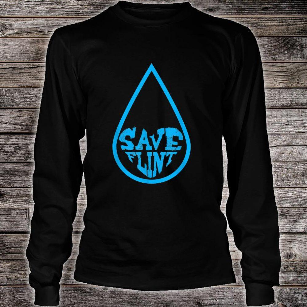 Save Flint Michigan Water Crisis Environment Awareness Shirt long sleeved
