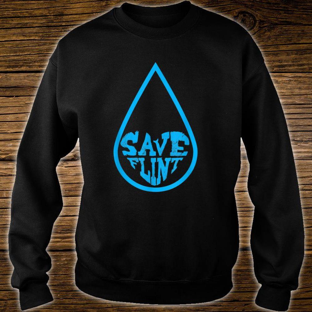 Save Flint Michigan Water Crisis Environment Awareness Shirt sweater