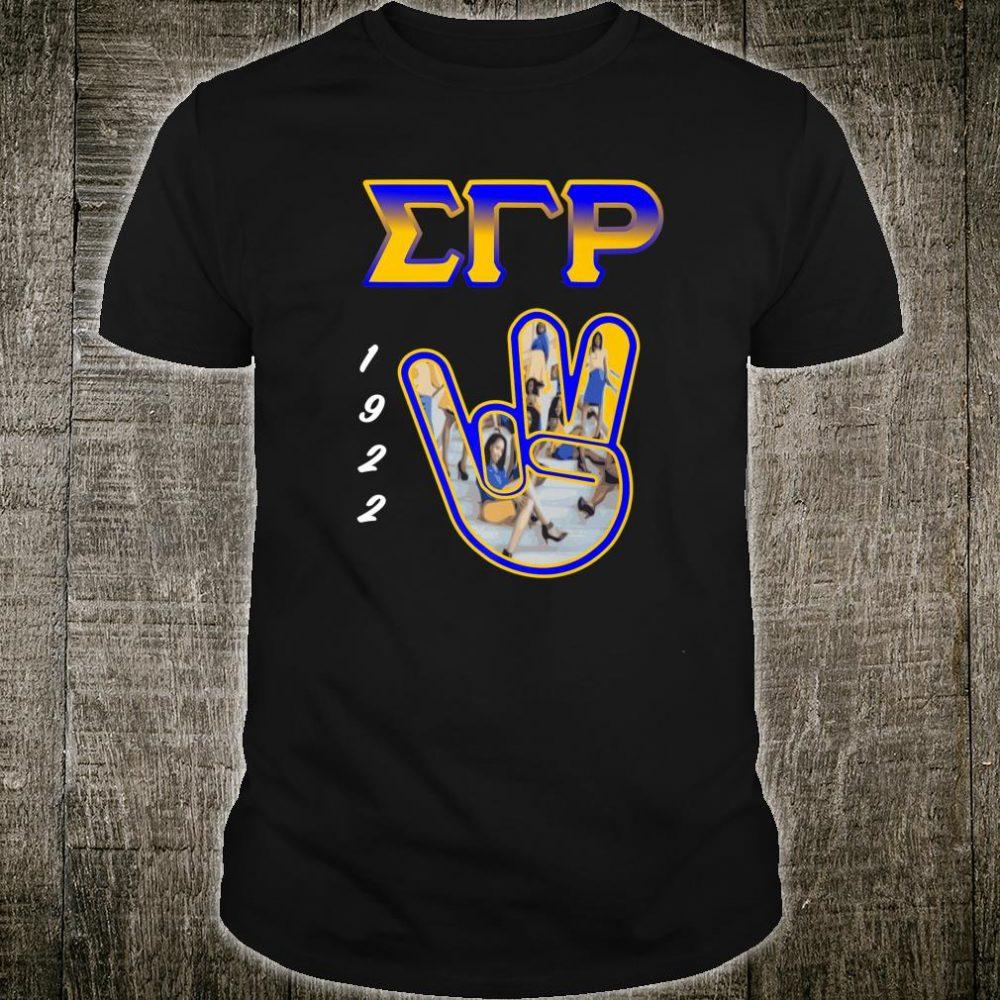 Sigma Gamma Rho Hand Sign 2020 Paraphernalia Shirt