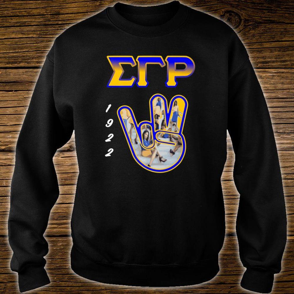 Sigma Gamma Rho Hand Sign 2020 Paraphernalia Shirt sweater