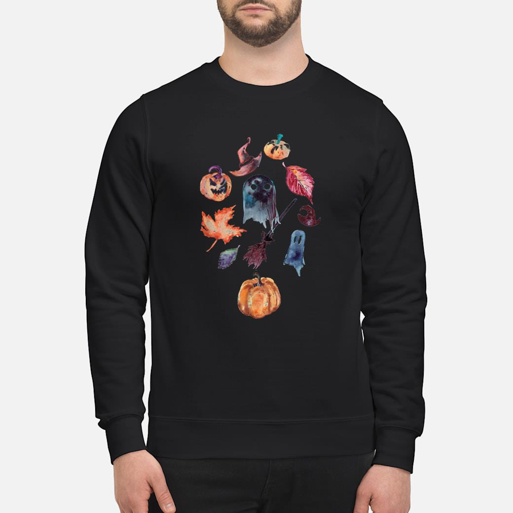 Spooky Season, Watercolor Halloween Beatiful October Design Shirt