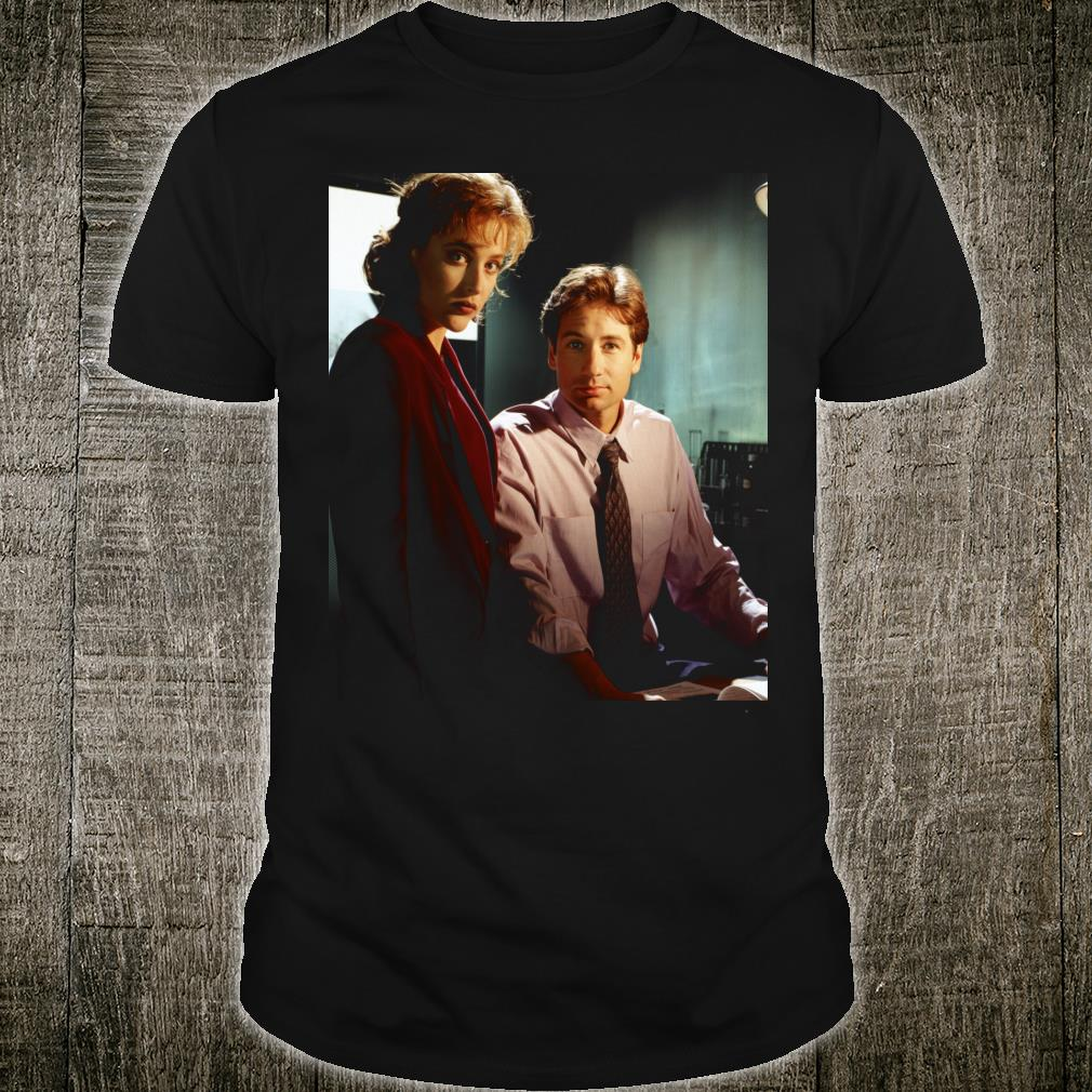 The XFiles Mulder Scully Believe Office Shirt