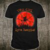 This girl loves Basketball witch Halloween Shirt