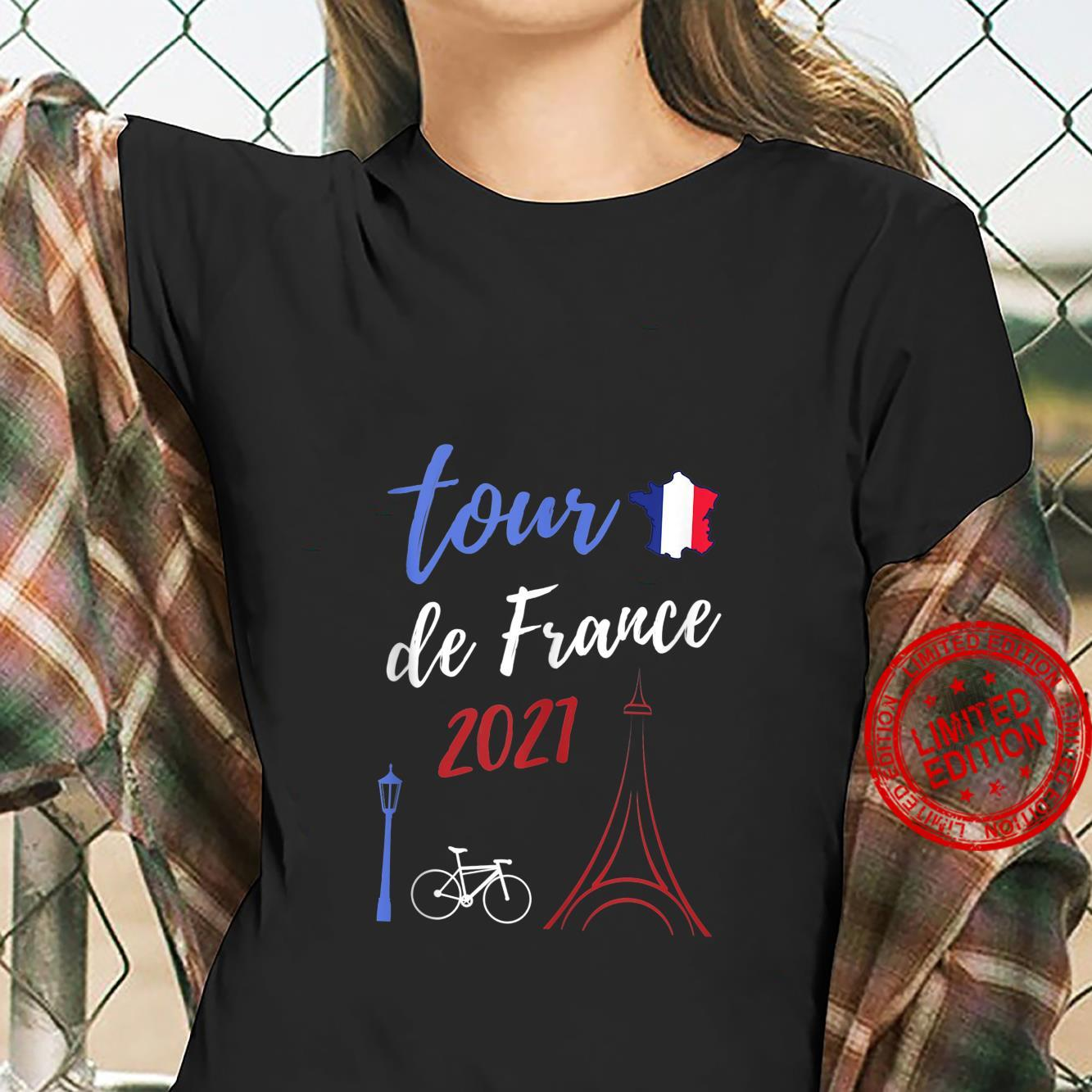 Tour France cycling jersey Bicycle French Souvenir Summer Shirt ladies tee