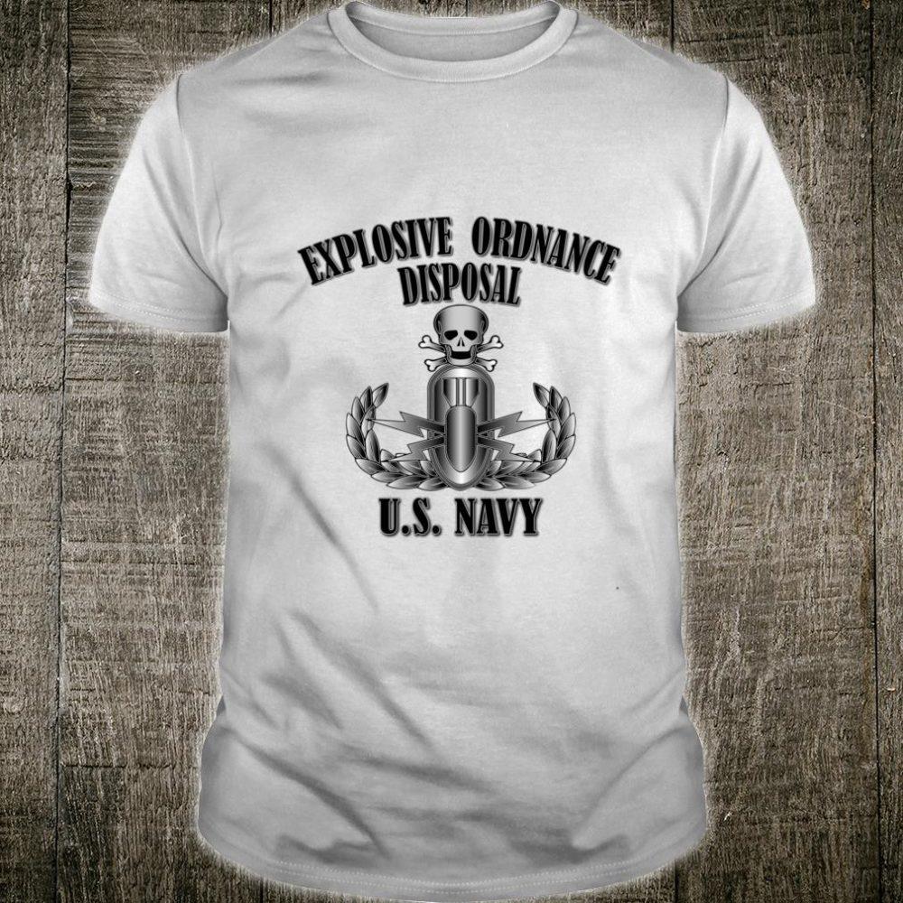 U.S. Navy Explosive Ordnance Disposal Back Design Shirt